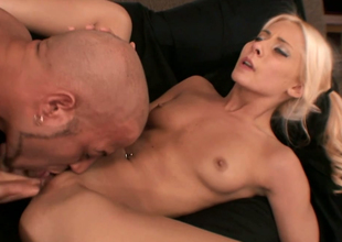 Sassy blondie with first-rate slim body Madison Ivy fucked constant