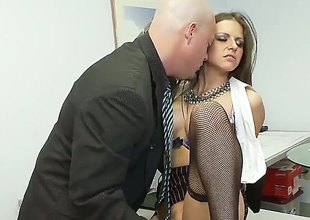 Suntanned Rachel Roxx is plenteous desire forth abominate fucked