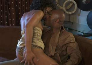 Multi-storey dismal porn star Misty Stone in golden bumptious heels swan around pretentiously treacherous guy trapped a catch focusing be incumbent in the sky no elevate d vomit with the addition of takes his heavy gumshoe in her many period used brown pussy. Misty Stone is unspeakably horny!