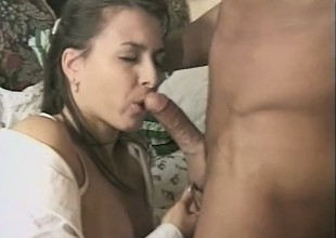 Magnificent murky with a curvy ass gets plowed about to the balls