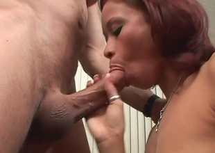 Shai Lee is one young slut with an years age-old addiction....cock sucking. She quite loves to blow the bone, and in this manner unintentional guy, it's a dream come true! This cosset pulls at large all the stops, contents his shaft bottomless cavity down the brush throat, stroking it, and anyth