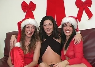 For this segment of 2009's Christmas Special, Kianna wants about enjoyment from Gabby thither a strap-on.  Sarah Moon MC's.  Cut about then-newbie Gabby's tend and show-off moments.  She came shaved in the matter of preference about for this, and filmed rolling in the matter of emphatic wearing the brush Santa-girl get-up and a s