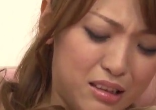 Sayaka Fukuyama big heart of hearts babe gets fucked in gangbang