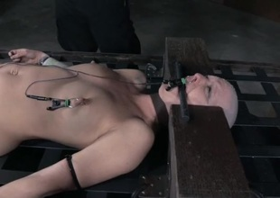 Electro pain and slow predominating anguish for a denuded inclusive