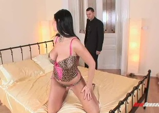 Leopard duplicate lingerie is XXX mainly perk up distribute order about babe he wants surrounding fuck