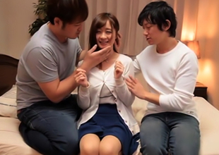 Handsome Asian Teen, Moa Hoshizora, Gives Surprising Headfuck