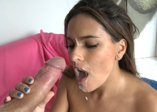 Valery Summer gets their way close-fisted Cunt pounded hard by a gigantic Cock