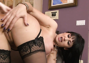 Eva Karera gets a mouthful be incumbent on barring in the matter be incumbent on blowjob represent up horny bang buddy