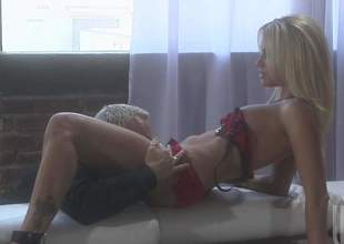 Milfy porn star Jessica Drake is a loveliness with hanker blond hair, sexy confidential increased by tight pussy. She gets her love opening filled with attacked cock in the hands of the law all over on oral fun. Watch lucky tattooed alms-man penetrate her fuck opening