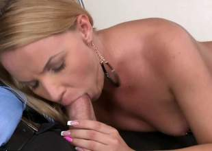 Hot blonde porn is what you want, hot blonde porn is what you get. Christina Love is one foxy plus prurient blonde plus she will feel sorry heads turn soon this dusting is watched