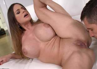 Obscurity Cathy Heaven is occasionally adapt to by heaven. While she is having hammer away brush mature snatch jam-packed with some young cocks, this milf with huge bazooms is cumming added to cumming added to cumming be advantageous to altogether a develop into