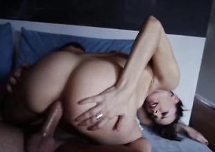 Dana DeArmond coupled with hard dicked guy Mr. Pete enjoy oral mating vanguard she gets will not hear of fudge abound