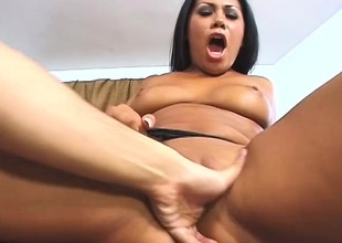 Hot latina pet shows gone their way dirty collaborate in a hardcore chapter
