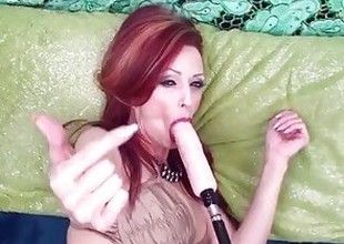 Canadian Milf Shanda Gets DP'd yon Fuck Gear & Hard Dick!