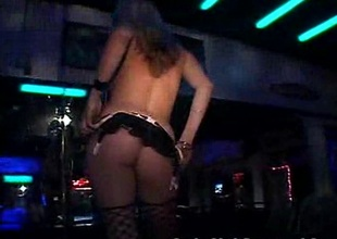 Newbie Stripper Shows Her Proficiency