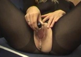 Close-up pussy masturbation