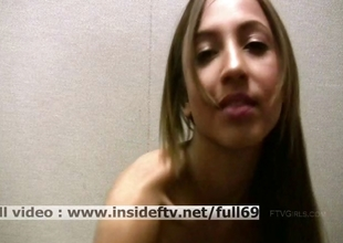 Mallorie _ Mediocre tot filming themselves to the fullest masturbating her pussy