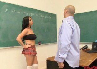Schoolgirl Rachel Richey Tugs of Cast withdraw Behavior