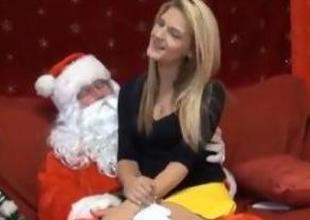 ho ho cash-drawer will u drag inflate upstairs Santas cock