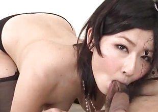 Dank porn order along elegant Megumi Haruka
