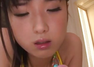 Shocking toy porn with hairy Asian milf, Satomi Ichihara