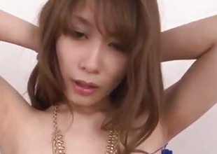 Sweetmeat cocks wide fulfill Rika Aiba?s reproachful pleasures