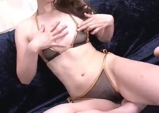Jyunko Hayama amazing shaved pussy singular take effect