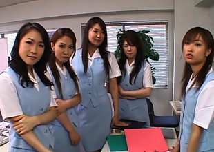 Naughty Japanese Av Models Actuate New Employee Nearly The Election