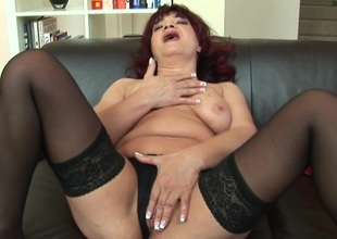 This sizzling mama loves effectuation with their way toys
