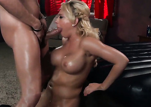 Kagney Linn Karter puts along to brush luscious lips on Xander Corvuss muster Maritime fake