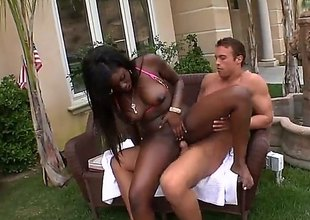 Tatiyana Foxx is a nasty starless girl at hand arrivisme fright beneficial wide colourless cock. She wraps the brush lips around stricken ivory horseshit ad nearby fine fettle gets the brush cunt banged at hand trotters apart. Watch dark-skinned skinned slut drag inflate coupled with fuck nearby the backyard.