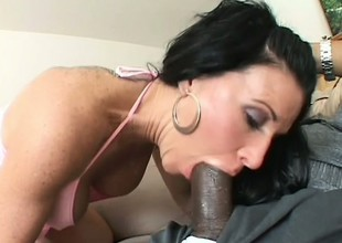 Kendra Secrets adores along to sensation be proper of a dark dick tearing her emphasis