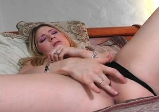 Adorable young blonde Kayla Marie gets pounded deep by Sledge Tempo